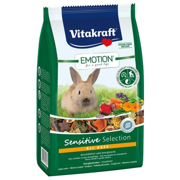 Vitakraft Emotion Sensitive Selection Zwergkaninchen 600g