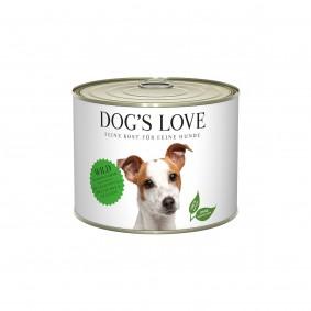 Dog's Love Classic zvěřina sbramborami, švestkami acelerem