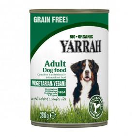 Yarrah Hundefutter Bio Bröckchen VEGAN mit Cranberries 380g