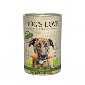 Dog's Love Bio Gartenernte Vegan mit Gemüse und Obst