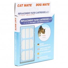 Cat Mate náhradní filtr pro pítko pro domácí zvířata, 2 ks