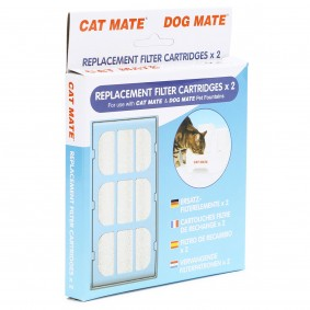 Cat Mate Ersatzfilter für Trinkautomaten 2 Stück