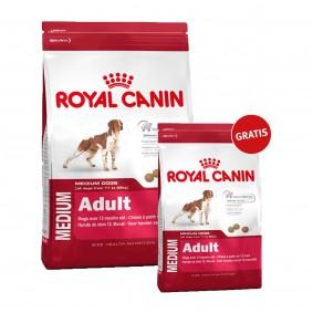 Royal Canin Medium Adult 15kg+4kg gratis