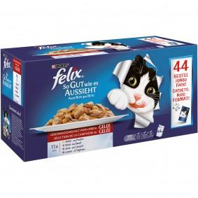 Felix So gut wie es aussieht  Fleisch Mix Multipack 44x100g