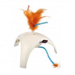 Trixie Feather Spinner mit 3 Bewegungssensoren 18×10×18cm