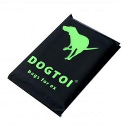 Dogtoi Etui 5er Pack - 60 wasserlöslichen Kotbeutel