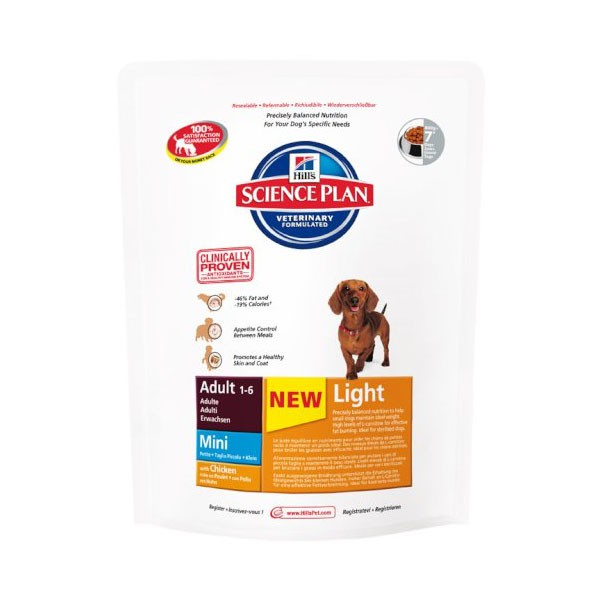 Hill's Canine Adult Light Mini mit Huhn