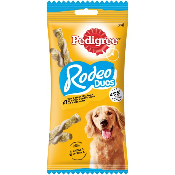 Pedigree® Snacks Rodeo - mit Huhn & Bacon