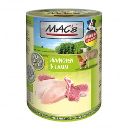 MAC's Dog Hühnchen und Lamm