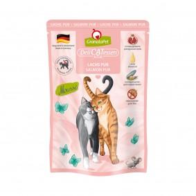 GranataPet Katze - Delicatessen Pouch Lachs PUR