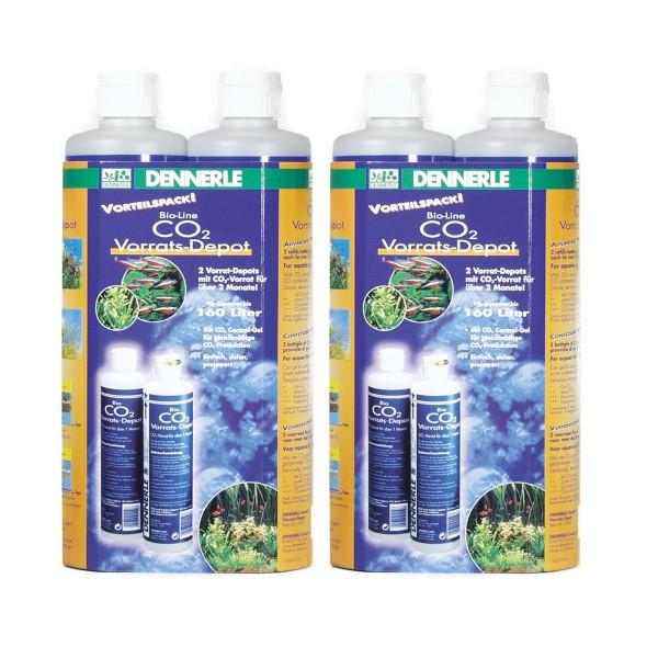 Dennerle Bio-Line CO2 Vorrats-Depot Sparpack 4 Stk