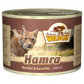 Wildcat Hamra mit Wachtel und Kartoffel