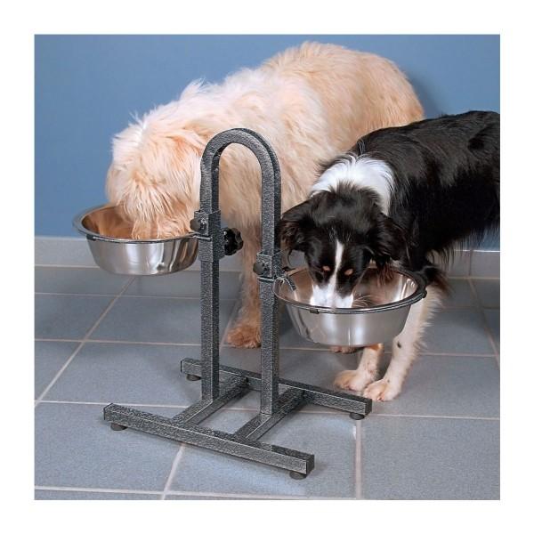 Trixie psí bar, výškově nastavitelný, 2,8l– ø24cm