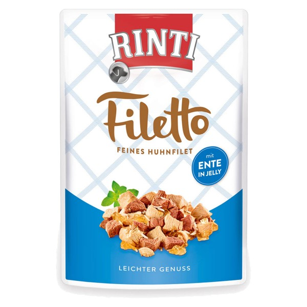 Rinti Filetto Huhn & Ente in Jelly
