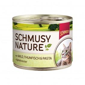 Schmusy Nature's Menü Wild+Thunfisch+Pasta 190g