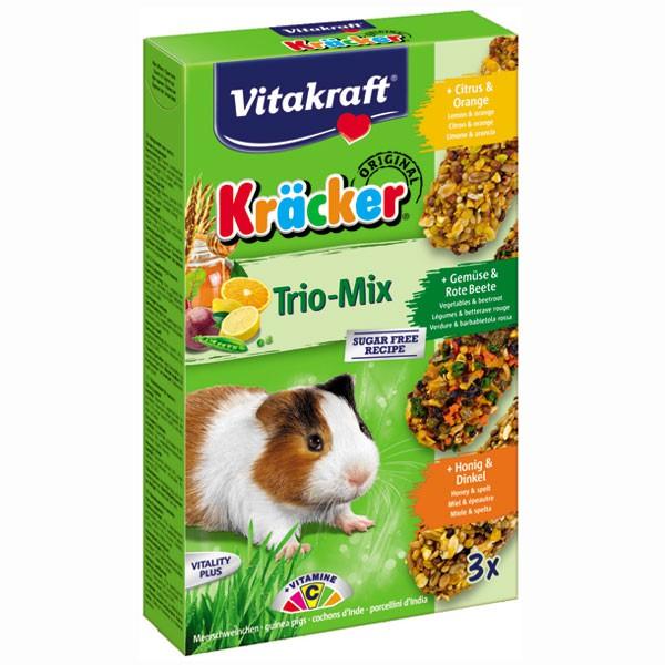 Vitakraft Kräcker Trio Mix für Meerschweinchen