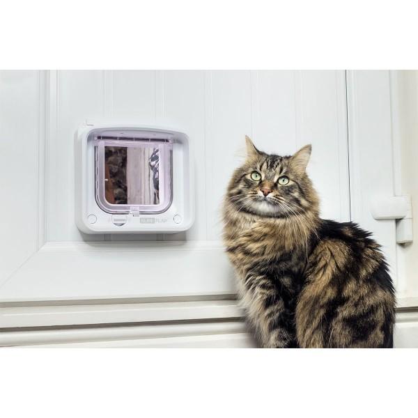 SureFlap Mikrochip Katzenklappe Connect + Hub