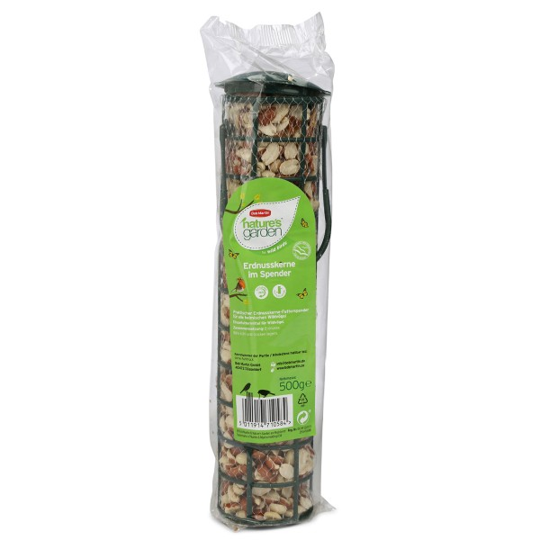Bob Martin Wildvogelfutter natures garden Erdnüsse 500g