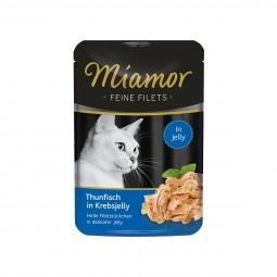 Miamor Feine Filets Thunfisch in Krebsjelly im Frischebeutel