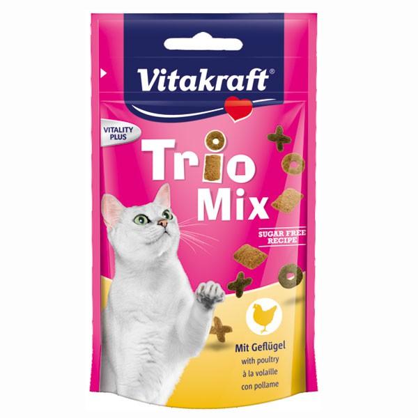 Vitakraft Katzensnack Trio Mix Geflügel