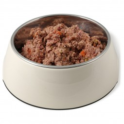 Landfleisch Hunde-Nassfutter Dog Pur Rinderherz & Reis