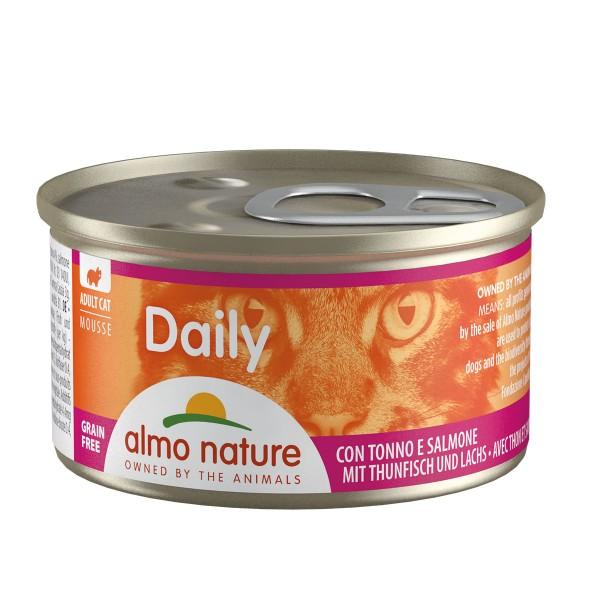 Almo Nature PFC Daily Menu Cat Mousse mit Thunfisch und Lachs