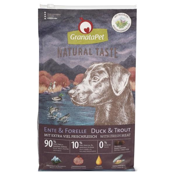 GranataPet Natural Taste Ente & Forelle