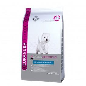 Eukanuba Hundefutter Erwachsene West Highland Terrier Huhn 2,5kg