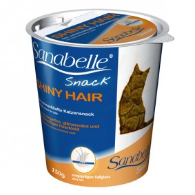 Sanabelle Shiny Hair-Snack 150g