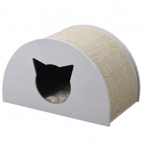ZooRoyal Moon kukaň pro kočky, 48,5 cm, bílá