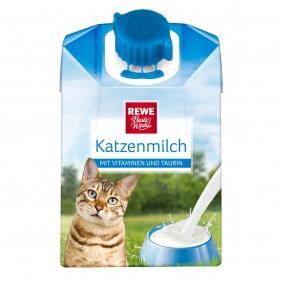 REWE Beste Wahl Katzenmilch mit Vitaminen und Taurin 200ml