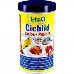 Tetra Zierfischfutter Cichlid Colour 500ml