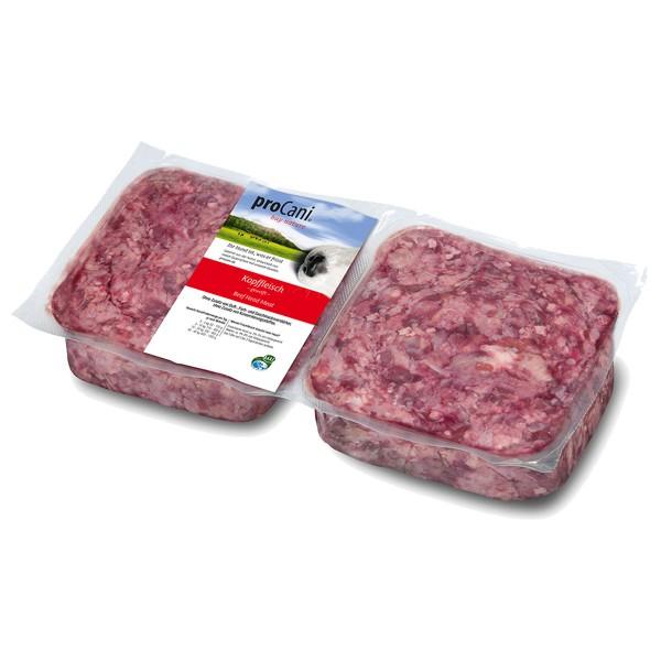 proCani Frostfutter Kopffleisch