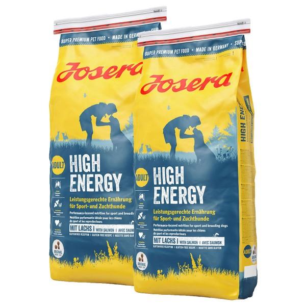 Josera Hundefutter High Energy - 15kg x2 SPARAN...