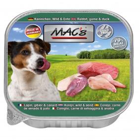 Mac's Dog Kaninchen, Wild & Ente