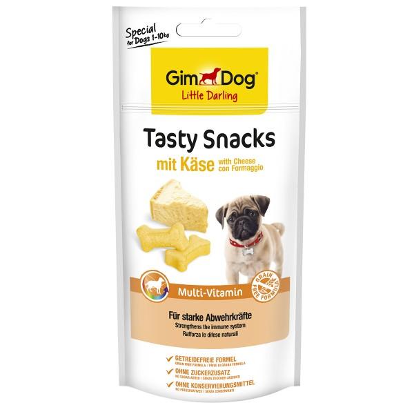 GimDog Little Darling Tasty Snacks Cheese und Multi-Vitamin 40g