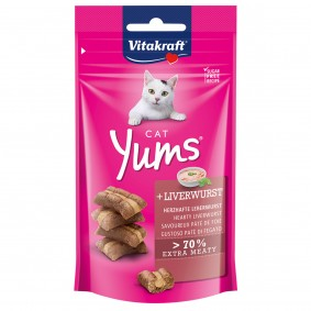 Vitakraft Katzensnack Cat Yums Leberwurst