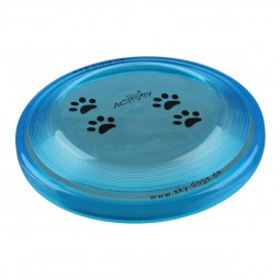 Trixie Dog Activity Dog Disc Hundefrisbee aus Kunststoff 23cm