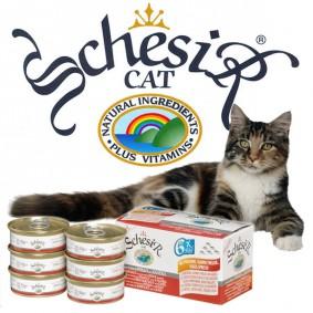 Schesir Cat Katzenfutter Multipack 6x50g