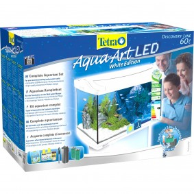 Tetra AquaArt LED Aquarium-Komplett-Set weiß 60