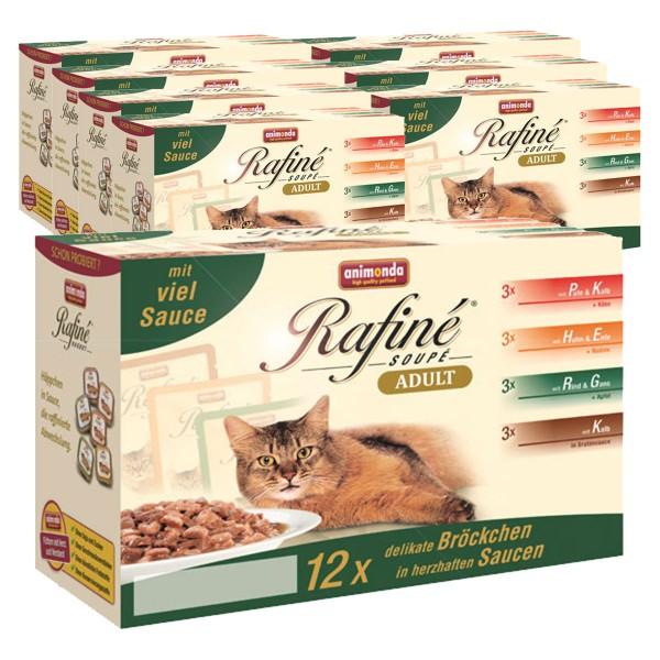 Animonda Katzenfutter Rafiné Soupé Multipack No.1 96x100g