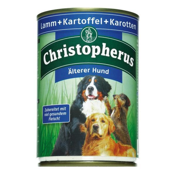 Christopherus Fleischmahlzeiten Älterer Hund Lamm + Kartoffel + Karotten