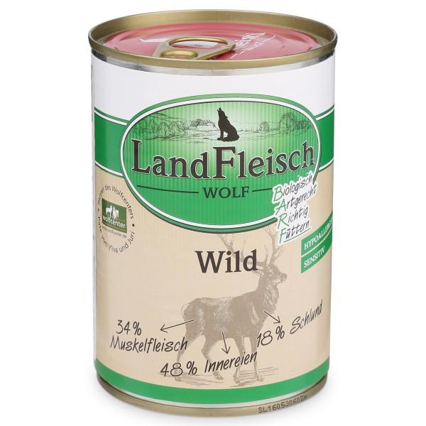 Landfleisch Dog Wolf Sensibel Wild