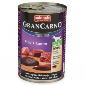 Animonda Nassfutter GranCarno Adult Rind und Lamm
