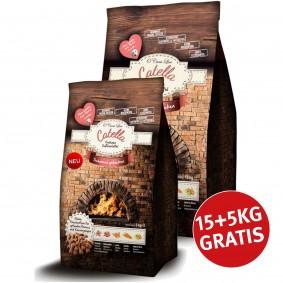 O´Canis-Line Catella gebackenes Hundefutter mit Truthahn und Süßkartoffel 15+5kg