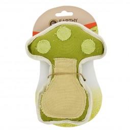 Earthy Pawz Holz Hundespielzeug Pilz 16×19cm