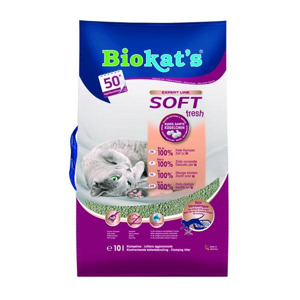 Biokat's Katzenstreu Soft fresh U-Pack 10l