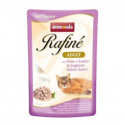 Animonda Rafiné Adult mit Pute & Lamm in Joghurt-Sahne-Sauce