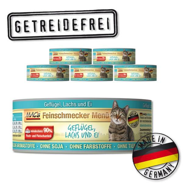 MAC's Cat Katzenfutter Feinschmecker Menü