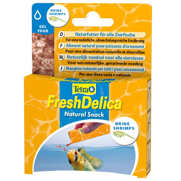 Tetra Gelfutter FreshDelica Brine Shrimps
